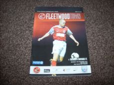 Fleetwood Town v Rushden & Diamonds, 2010/11